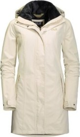 Jack Wolfskin Madison Avenue Mantel white sand (Damen) (1107732 5017) ab € 153,75