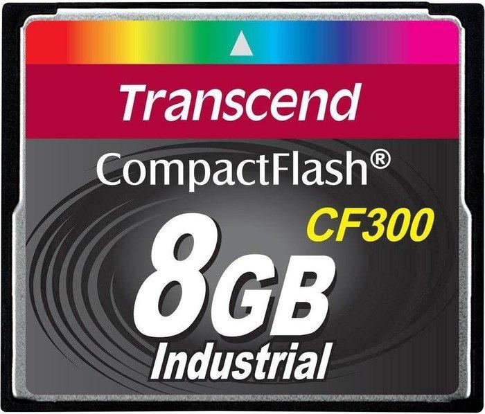 Transcend CompactFlash Card (CF) CF300 300x 8GB (TS8GCF300)