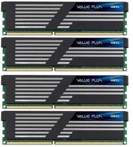 GeIL Value Plus DIMM kit 16GB, DDR3-1333, CL9-9-9-24 (GVP316GB1333C9QC)