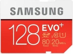 Samsung EVO+ R80/W20 SDXC 128GB, UHS-I, Class 10 (MB-SC128D/EU)