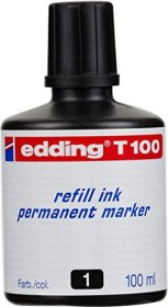 edding T100 001 ink bottle black, 100ml (4-T100001)