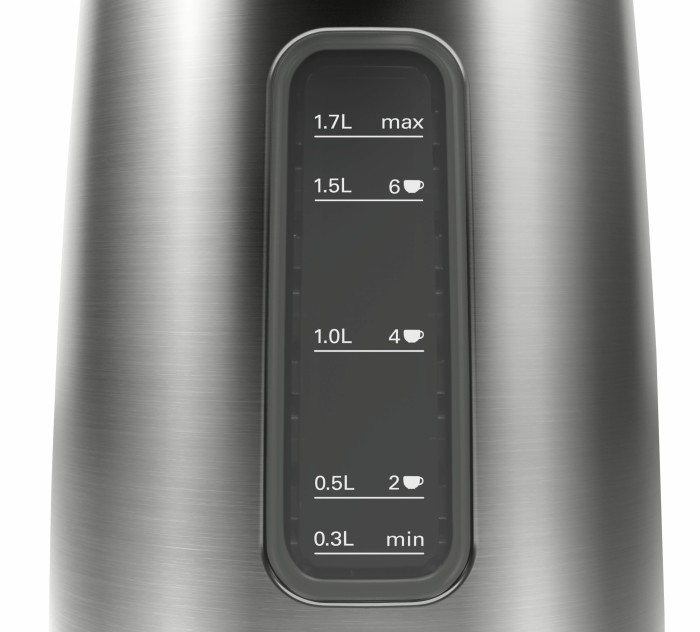 Bosch TWK5P475 Wasserkocher Grau Schwarz