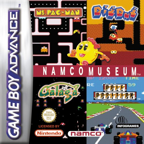 Namco Museum (GBA) -- via Amazon Partnerprogramm