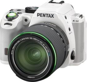 Pentax K-S2 weiß mit Objektiv DA 18-135mm WR (12061)