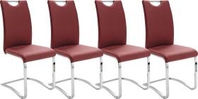 MCA Furniture Köln Freischwinger, rot (KOELNCPR)