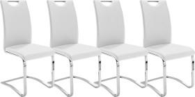 MCA Furniture Köln Freischwinger, weiß (KOELNCPW)
