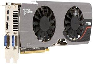 MSI R6950 Twin Frozr III Power Edition/OC, Radeon HD 6950, 2GB GDDR5, 2x DVI, HDMI, 2x Mini DisplayPort (V246-018R)