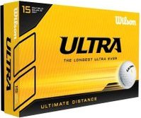 Wilson Ultra Ultimate Distance, 15 pieces