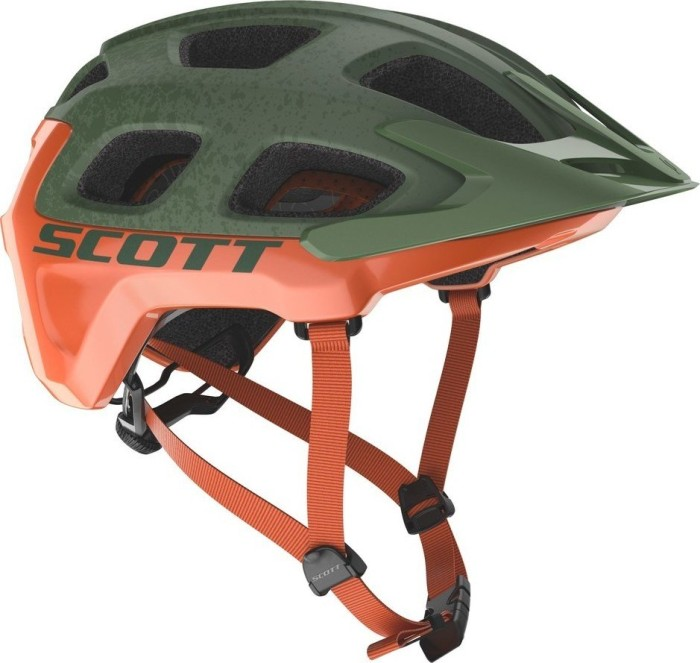 Scott Vivo Plus Helm metal green/orange (241070-6154)