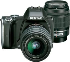 Pentax K-S1 schwarz mit Objektiv DA L 18-55mm und DA L 50-200mm (06435)