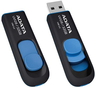 ADATA DashDrive UV128 blau 128GB, USB-A 3.0 (AUV128-128G-RBE)
