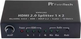 FeinTech HDMI 2.0 splitter 4K (VSP01202)