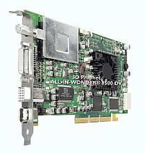 Guillemot / Hercules 3D Prophet All-In-Wonder Radeon 8500DV, 64MB DDR, DVI, TV-out, TV-Tuner, 2x FireWire, AGP, bulk (4860211)