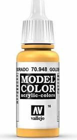 Vallejo Model Color 016 golden yellow (70.948)