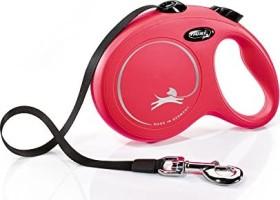 flexi New Classic L, 5m, belt, red