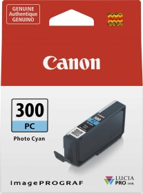 Canon Tinte PFI-300PC cyan photo (4197C001)
