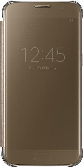 Samsung Clear View Cover für Galaxy S7 gold (EF-ZG930CFEGWW)