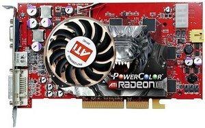 PowerColor Radeon X800 Pro, 256MB DDR3, DVI, ViVo, AGP (R42-PVD3)
