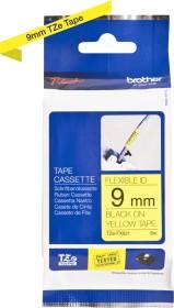 Brother TZe-FX621 label-making tape 9mm, black/yellow (TZEFX621)