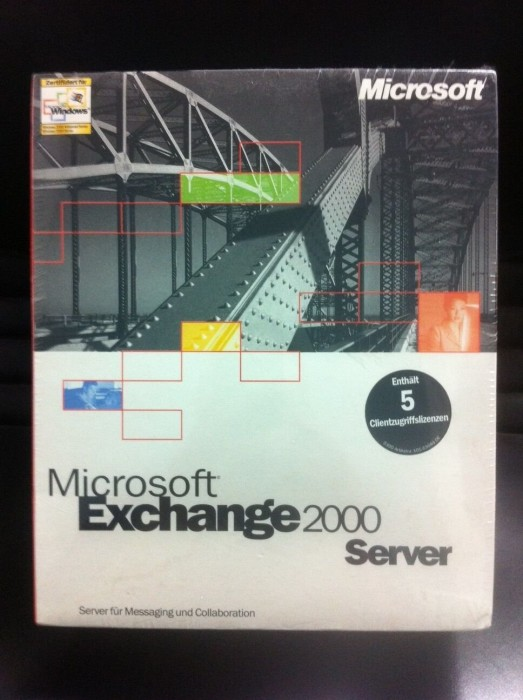 Microsoft: Exchange 2000 Server Standard, 5 User (deutsch) (PC) (312-01335) -- via Amazon Partnerprogramm