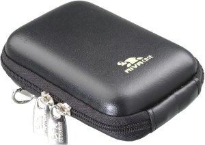 RivaCase 7022 (PU) Kameratasche (Leder) schwarz