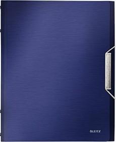 Leitz Style Ordnungsmappe A4, 6 Fächer, titan blau (39950069)
