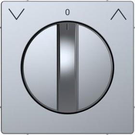 Merten System Design Zentralplatte, edelstahl (MEG3875-6036)