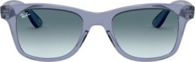 Ray-Ban RB4640 50mm blue transparent/blue gradient (RB4640-64963M)
