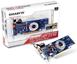 Gigabyte GeForce 8400 GS, 512MB DDR2, VGA, HDMI, DVI (GV-N84S-512I)