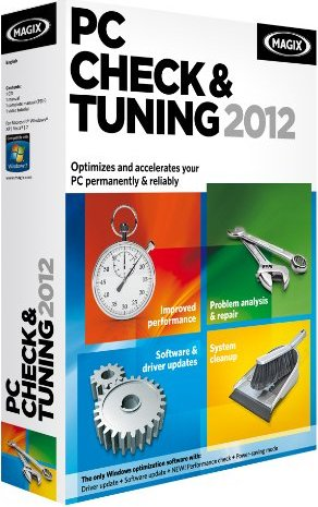 Magix: PC Check & Tuning 2012 (deutsch) (PC) (570849) -- via Amazon Partnerprogramm