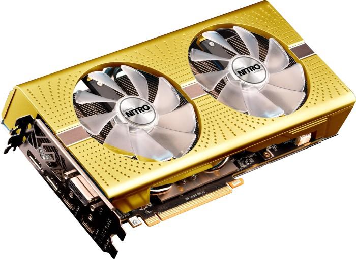Sapphire Nitro+ Radeon RX 590 8G G5 SE - AMD 50th Anniversary, 8GB GDDR5, DVI, 2x HDMI, 2x DP, lite retail (11289-07-20G)