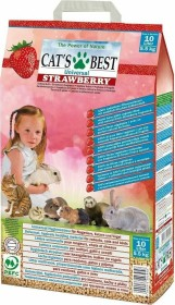 Cat's Best universal litter, with strawberry-odor 10l