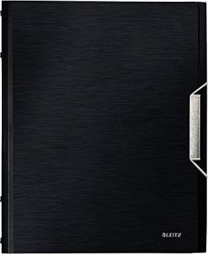 Leitz Style Ordnungsmappe A4, 6 Fächer, satin schwarz (39950094)