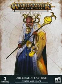 Games Workshop Warhammer Age of Sigmar - Cities of Sigmar - Broken Realms: Arcobalde Lazerne - Kriegsmagi von Xintil (99120299069)