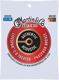 Martin Authentic Acoustic Lifespan 2.0 92/8 Phosphor Bronze Medium (MA550T)