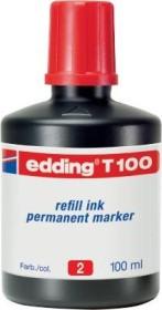 edding T100 002 Tintenflasche rot, 30ml (4-T100002)