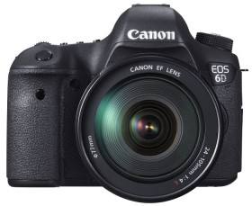 Canon EOS 6D schwarz mit Objektiv EF 24-105mm 4.0 L IS USM (8035B029)