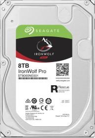 Seagate IronWolf Pro NAS HDD +Rescue 8TB, SATA 6Gb/s (ST8000NE001)