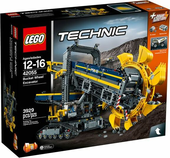 LEGO - Technic - Schaufelradbagger (42055) -- via Amazon Partnerprogramm
