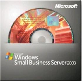 Microsoft Windows Small Business Server 2003 (SBS) Standard R2, inkl. 5 User OSB/OEM (deutsch) (PC) (T72-01555)