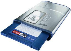 LenovoEMC ZIP-Drive 750MB FireWire extern (32476)