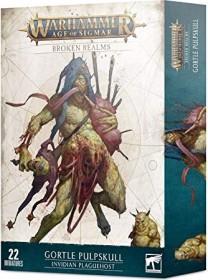 Games Workshop Warhammer Age of Sigmar - Maggotkin of Nurgle - Broken Realms: Gortel Breischädel - Invidisches Seuchenheer (99120201119)