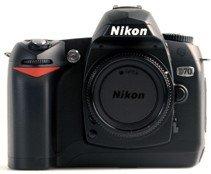 Nikon D70 black body (VBA104EA)