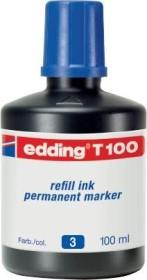 edding T100 003 Tintenflasche blau, 30ml (4-T100003)