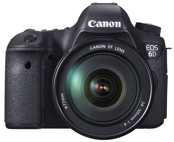 Canon EOS 6D (SLR) with third-party manufacturer lens