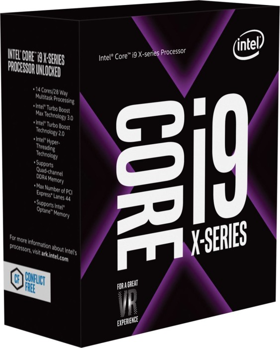 Intel Core i9-7920X, 12x 2.90GHz, boxed ohne Kühler (BX80673I97920X)