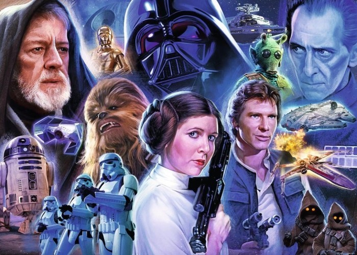 Ravensburger Puzzle Star Wars Collection 1 (19763)