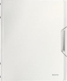 Leitz Style Ordnungsmappe A4, 12 Fächer, arktik weiß (39960004)