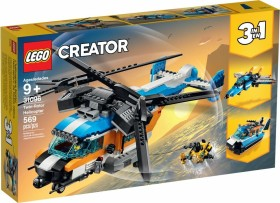LEGO Creator 3in1 - Twin-Rotor Helicopter (31096)