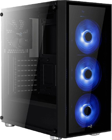 AeroCool Quartz Blue, Glasfenster (ACCM-PB07043.B1)